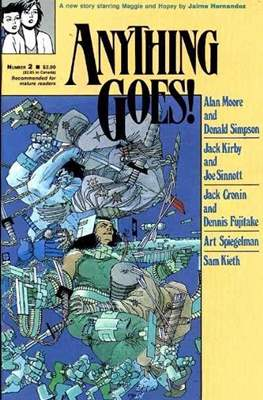 Anything Goes! (Comic Book. 1986 - 1987) #2