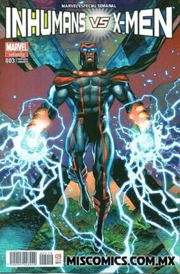 Inhumans vs. X-Men (Portada variante) (Grapa) #3.1
