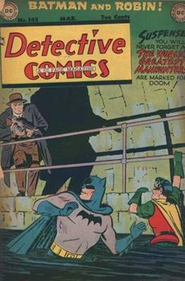Detective Comics Vol. 1 (1937-2011; 2016-) (Comic Book) #145