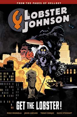 Lobster Johnson (TPB) #4