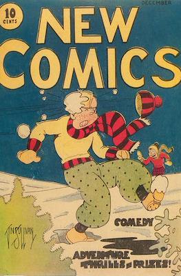 New Comics / New Adventure Comics / Adventure Comics (1935-1983 ; 2009-2011) #1