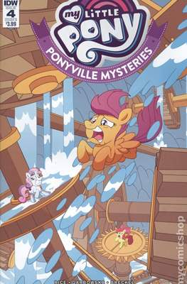 My Little Pony: Ponyville Mysteries (Variant Cover) (Comic Book) #4