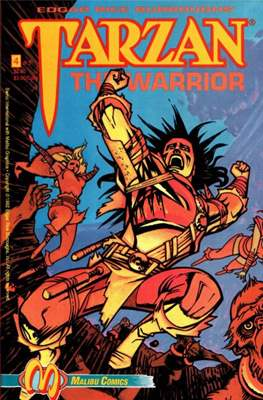Tarzan The Warrior (Grapa) #4