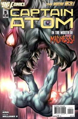 Captain Atom The New 52! (2011-2012) #5