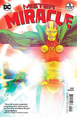 Mister Miracle (Vol. 4 2017- Variant Covers) (Comic Book) #1.2