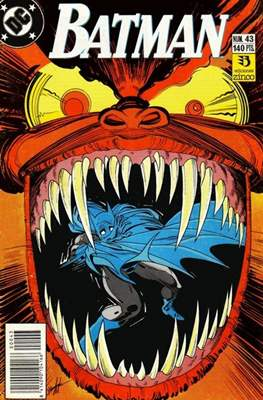 Batman (1987-1993) (Grapa) #43