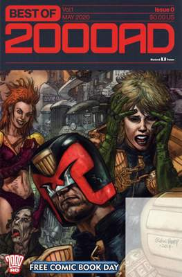 Best of 2000 AD Free Comic Book Day 2020