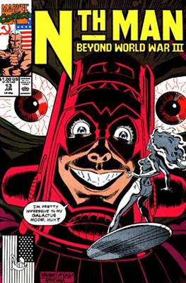 Nth Man (Comic-book) #13