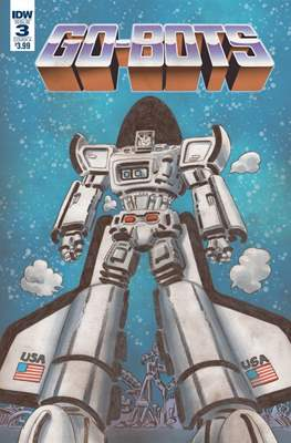 Go-Bots (Comic Book) #3