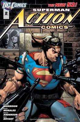 Action Comics Vol. 2 (2011-2016) (Grapa) #2