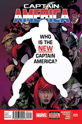 Captain America Vol. 7 (2013-2014) (Comic Book) #25