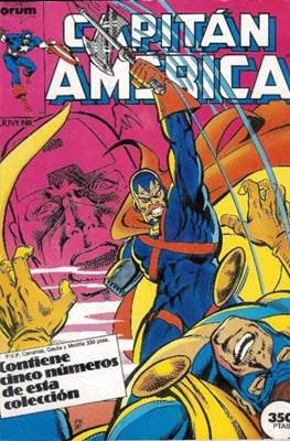 Capitán América Vol. 1 (1985-1992) (Retapado Rústica) #4