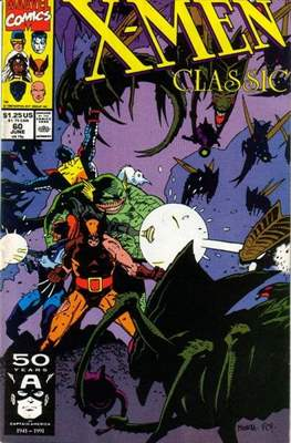 Classic X-Men / X-Men Classic (Comic Book) #60