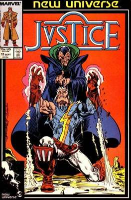 Justice. New Universe (1986) #11