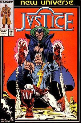 Justice. New Universe (1986) (Grapa.) #11