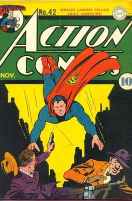 Action Comics Vol. 1 (1938-2011; 2016-) (Comic Book) #42