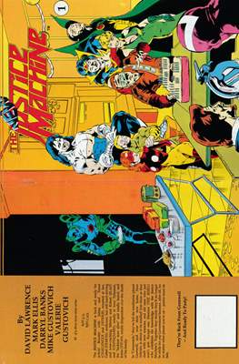 The New Justice Machine (Comic Book) #1
