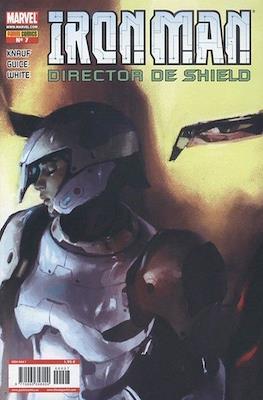 Iron Man: Director of SHIELD / Iron Man & Máquina de Guerra / El Invencible Iron Man (2008-2011) #7
