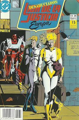 Liga de la Justicia Europa (1989-1992) (Grapa) #31