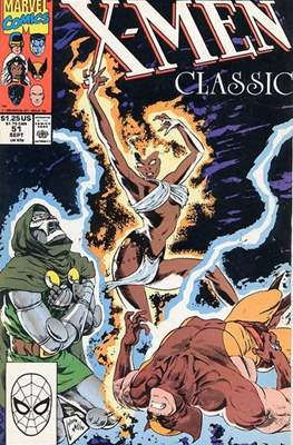 Classic X-Men / X-Men Classic (Comic Book) #51