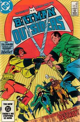 Batman and the Outsiders (1983-1987) (Comic Book) #12