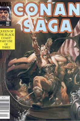 Conan Saga (Comic-book) #50