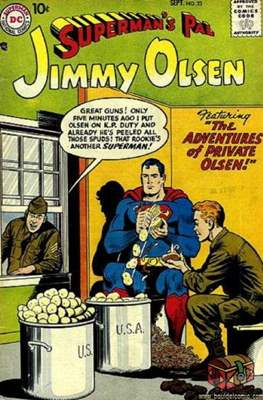 Superman's Pal, Jimmy Olsen / The Superman Family (Comic Book) #23