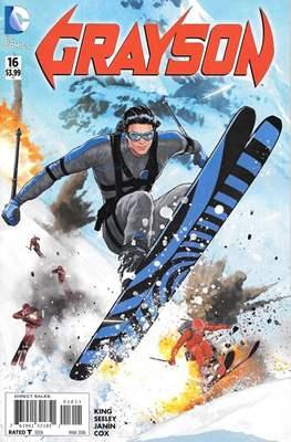 Grayson (2014-2016) (Comic-Book) #16