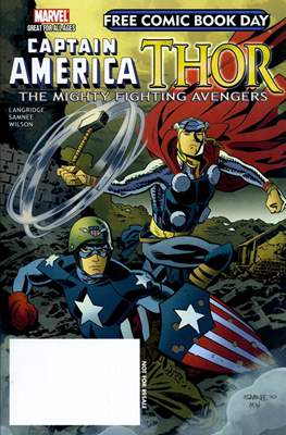 Captain America / Thor: The Mighty Fighting Avengers - Free Comic Book Day 2011