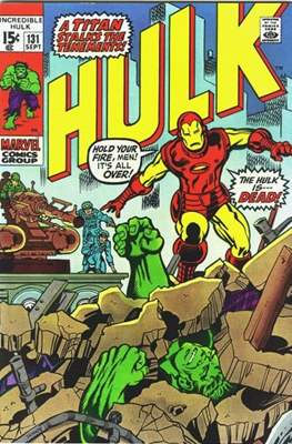 The Incredible Hulk Vol.1 (Saddle-stitched. 1962-1999) #131