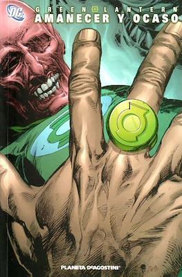 Green Lantern. Amanecer y ocaso