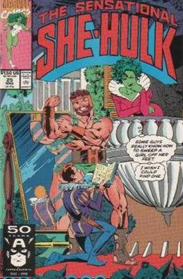 Sensational She-Hulk (1989-1994) (Comic Book) #25
