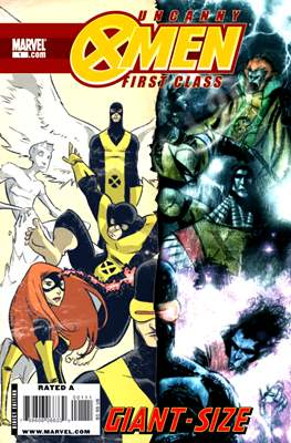 Uncanny X-Men First Class Giant-Size
