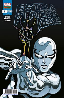 Estela Plateada: Negro (Grapa 24 pp) #1