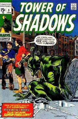 Tower of Shadows (Comic Book. 1969 - 1971. The series continues as Creatures on the Loose from issue #10 and on) #9