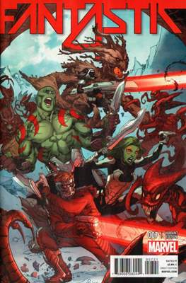 Fantastic Four Vol. 5 (Variant Cover) #7