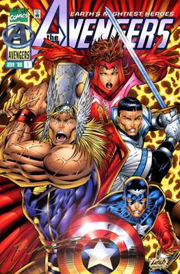 The Avengers Vol. 2 Heroes Reborn (1996-1997 - Variant Covers)