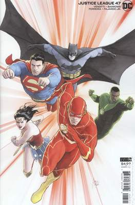 Justice League Vol. 4 (2018- Variant Cover) #47