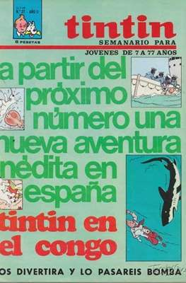 Tintin (Grapa 20 pags.) #27