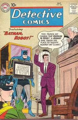 Detective Comics Vol. 1 (1937-2011; 2016-) (Comic Book) #281