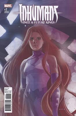 Inhumans - Once & Future Kings (Variant Covers) #2.1