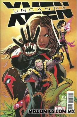 Uncanny X-Men (2016-2017) (Grapa) #14