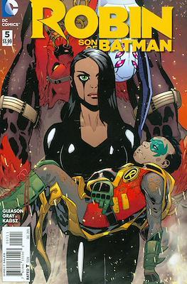 Robin Son of Batman (2015-2016) (Comic book) #5