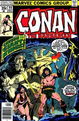 Conan The Barbarian (1970-1993) (Comic Book 32 pp) #90