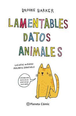 Lamentables datos animales (Cartoné 216 pp) #