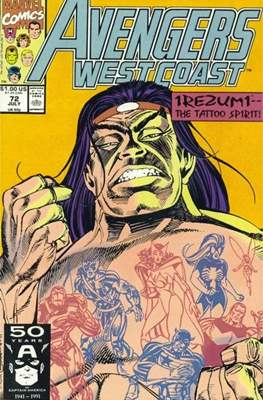 West Coast Avengers Vol. 2 (Comic-book. 1985 -1989) #72