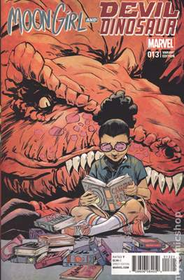 Moon Girl and Devil Dinosaur (Variant Covers) (Grapa) #13.1