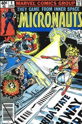 The Micronauts Vol.1 (1979-1984) (Comic Book 32 pp) #6