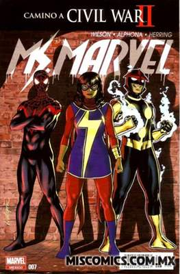 Ms. Marvel (2016-2017) #7