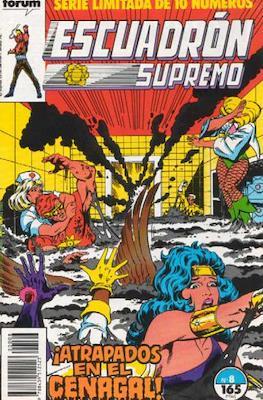 Escuadrón Supremo (1990) (Grapa. 17x26. 32 páginas. Color) #8